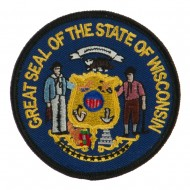 Eastern State Seal Embroidered Patch - Wisconsin