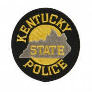 Eastern State Police Embroidered Patches - KY State