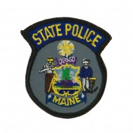 Eastern State Police Embroidered Patches - ME State