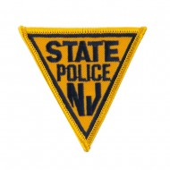 Eastern State Police Embroidered Patches - NJ State