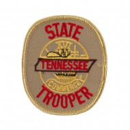 Eastern State Police Embroidered Patches - TN State