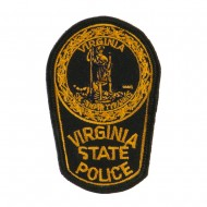 Eastern State Police Embroidered Patches - VA State