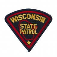 Eastern State Police Embroidered Patches - WI State