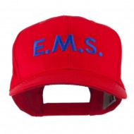 Emergency Medical Services Embroidered Cap - Red