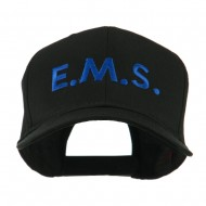 Emergency Medical Services Embroidered Cap - Black