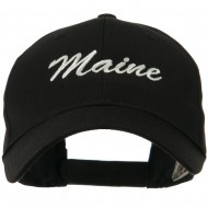 Eastern States Embroidered Cap - Maine