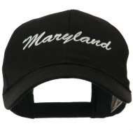 Eastern States Embroidered Cap - Maryland
