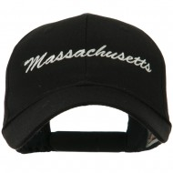 Eastern States Embroidered Cap - Massachussets