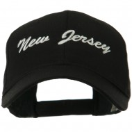 Eastern States Embroidered Cap - New Jersey