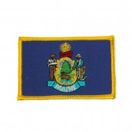 Eastern State Embroidered Patches - Maine