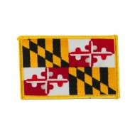 Eastern State Embroidered Patches - Maryland