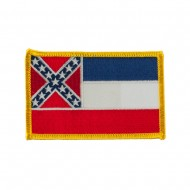 Eastern State Embroidered Patches - Mississippi