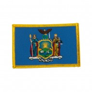 Eastern State Embroidered Patches - New York