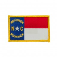 Eastern State Embroidered Patches - North Carolina