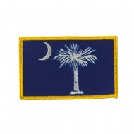 Eastern State Embroidered Patches - South Carolina