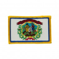 Eastern State Embroidered Patches - West Virginia