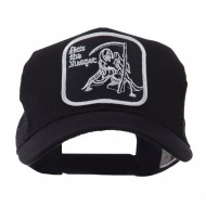 ETC Embroidered Military Patched Mesh Cap - Fear