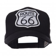 ETC Embroidered Military Patched Mesh Cap - Route 66
