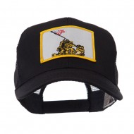 ETC Embroidered Military Patched Mesh Cap - Iwo Jima