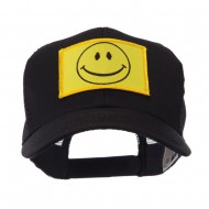 ETC Embroidered Military Patched Mesh Cap - Smile