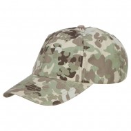 Enzyme Washed Camo Cap-Total Terr