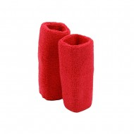 Extra Long Terry Wrist Band Pair- Hot Pink