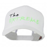 The Extreme Embroidered Trucker Cap - White