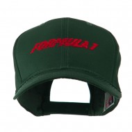 Formula 1 for Racing Cars Embroidered Cap - Green