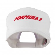Formula 1 for Racing Cars Embroidered Cap - White