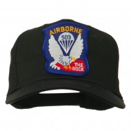 503rd Airborne Embroidered Patch Cap - Black