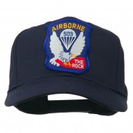 503rd Airborne Embroidered Patch Cap - Navy