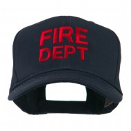 Fire Department Embroidered Cap - Navy