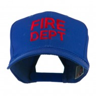 Fire Department Embroidered Cap - Royal