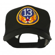 Air Force Division Embroidered Military Patch Cap - 13th