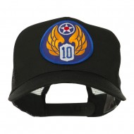 Air Force Division Embroidered Military Patch Cap - 10th