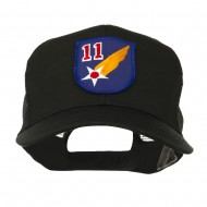 Air Force Division Embroidered Military Patch Cap - 11th