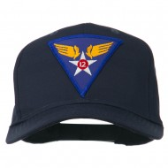 12th Air Force Division Patched Cap - Navy