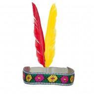 Indian Hat - Small Red Band