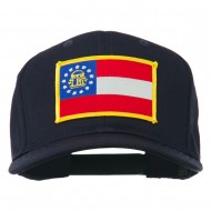 Eastern State Georgia Embroidered Patch Cap - Navy