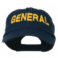 US GENERAL Embroidered Low Profile Washed Cap - Navy