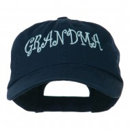 Grandma Embroidered Cap - Navy