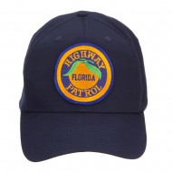 Florida State Highway Patrol Patched Cap - Navy