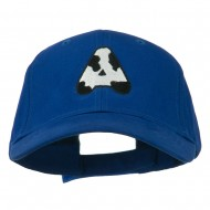 Holstein Alphabet AM Letters Embroidered Youth Brushed Cap - A