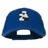 Holstein Alphabet AM Letters Embroidered Youth Brushed Cap - B