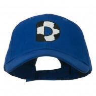 Holstein Alphabet AM Letters Embroidered Youth Brushed Cap - D