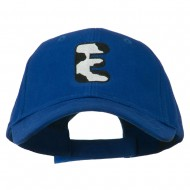 Holstein Alphabet AM Letters Embroidered Youth Brushed Cap - E