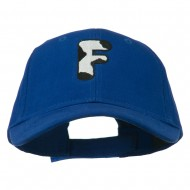 Holstein Alphabet AM Letters Embroidered Youth Brushed Cap - F