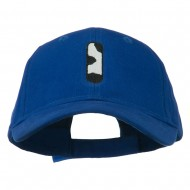 Holstein Alphabet AM Letters Embroidered Youth Brushed Cap - I