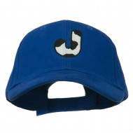 Holstein Alphabet AM Letters Embroidered Youth Brushed Cap - J