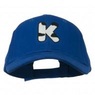 Holstein Alphabet AM Letters Embroidered Youth Brushed Cap - K